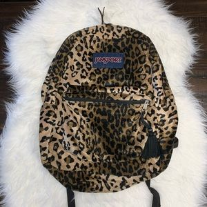 Cheetah Jansport Backpack Furry